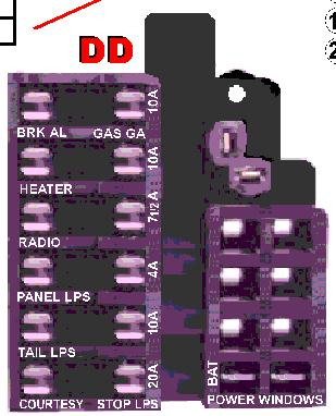 docrebuild s oosoez wiring guides 11 x 17 convenient size for actual use inside under or even behind dash